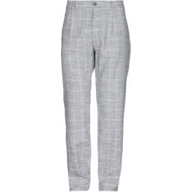 《期間限定セール開催中!》LIU JO MAN メンズ パンツ ダークブルー 28 コットン 50% / 麻 50%