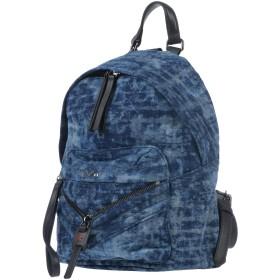 《セール開催中》DIESEL レディース バックパック&ヒップバッグ ブルー 紡績繊維
