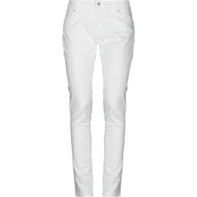 《セール開催中》BLUEFEEL by FRACOMINA レディース パンツ ホワイト 30 コットン 98% / ポリウレタン 2%