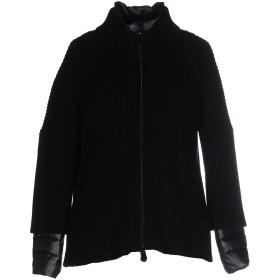 《期間限定 セール開催中》DUVETICA レディース ダウンジャケット ブラック 44 ウール 100% / ナイロン