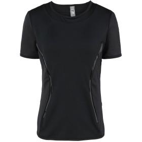 《期間限定セール開催中!》ADIDAS by STELLA McCARTNEY レディース T シャツ ブラック XS リサイクルポリエステル 79% / ポリウレタン 21% P ESS TEE