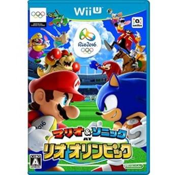 中古 マリオ&ソニック AT リオオリンピック - Wii U 良品