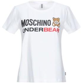 《セール開催中》MOSCHINO レディース アンダーTシャツ ホワイト XS コットン 92% / ポリウレタン 8%
