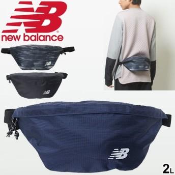ウエストバッグ メンズ レディース ニューバランス Newbalance ウエストポーチ 2L ヒップバッグ スポーツバッグ アウトドア フェス/JABP9249