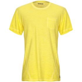 《9/20まで! 限定セール開催中》YES ZEE by ESSENZA メンズ T シャツ イエロー XL コットン 100%