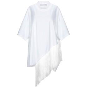 《期間限定 セール開催中》MARQUES' ALMEIDA レディース T シャツ ホワイト M コットン 100% / ポリエステル