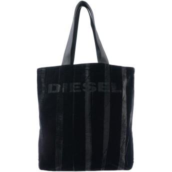 《セール開催中》DIESEL レディース ハンドバッグ ブラック 指定外繊維