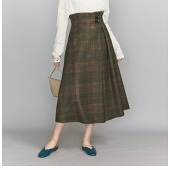 【BEAUTY & YOUTH UNITED ARROWS:スカート】<O'NEIL of DUBLIN>Aラインバックルスカート