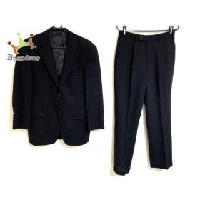 ニューヨーカー NEW YORKER シングルスーツ メンズ ダークネイビー シングル/ネーム刺繍 新着 20190808