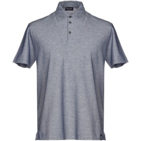《セール開催中》DRUMOHR メンズ ポロシャツ ブルー XXL 100% コットン