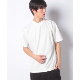 (koe/コエ)ハイゲージポンチプリントTEE/メンズ ホワイト