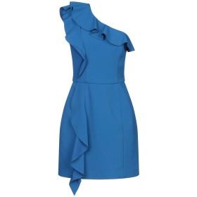 《期間限定 セール開催中》REBECCA VALLANCE レディース ミニワンピース&ドレス ブルー 8 ポリエステル 97% / ポリウレタン 3%