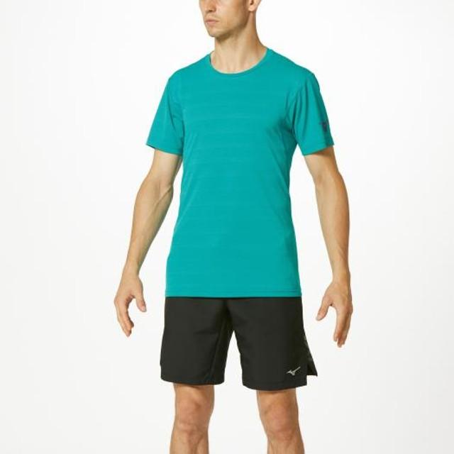 MIZUNO SHOP [ミズノ公式オンラインショップ] Tシャツ[メンズ] 32 ブルーグラス 32MA9510