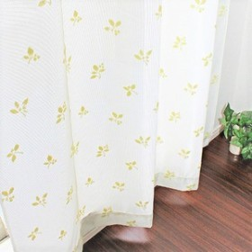 送料無料 【2枚組】 断熱・保温パイルミラーレースカーテン (100×108cm)日本製 生活用品・インテリア・雑貨:インテリア・家具:カーテ