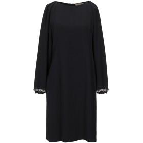 《セール開催中》L' AUTRE CHOSE レディース ミニワンピース&ドレス ブラック 44 ポリエステル 100%