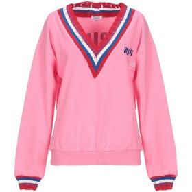 《セール開催中》BRIGITTE BARDOT レディース スウェットシャツ ピンク S/M コットン 100%