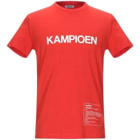 《期間限定セール開催中!》BIKKEMBERGS メンズ T シャツ レッド S コットン 92% / ポリウレタン 8%