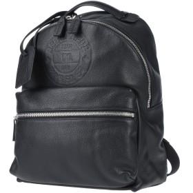 《期間限定セール開催中!》DSQUARED2 メンズ バックパック&ヒップバッグ ブラック 革