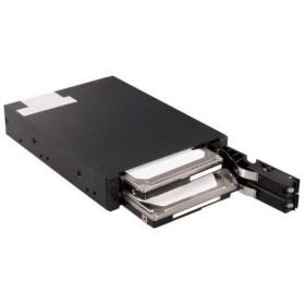オウルテック OWL-IE3201-BK 2.5 SATA HDD/SSD対応 3.5インチベイ用リムーバブルHDDケース