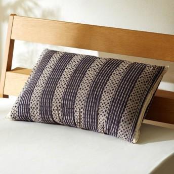 ベルメゾン 北欧調デザインののびのび枕カバー 「幾何」