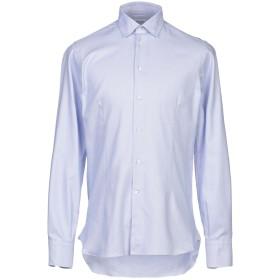 《期間限定セール開催中!》BRANCACCIO メンズ シャツ アジュールブルー 39 コットン 100%