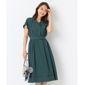 エニィスィス(any SiS)/【洗える】カラーレスシャツ ワンピース