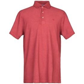 《セール開催中》GRAN SASSO メンズ ポロシャツ レッド 48 コットン 100%