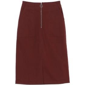 【オンワード】 YECCA VECCA(イェッカヴェッカ) ZIPタイトスカート Bordeaux F レディース 【送料無料】