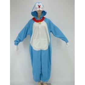 フリース着ぐるみパジャマ ドラえもん ハロウィン ハロウィーン お祭り イベント コスプレ 文化祭 部屋着に
