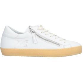 《期間限定セール開催中!》PHILIPPE MODEL メンズ スニーカー&テニスシューズ(ローカット) ホワイト 40 革