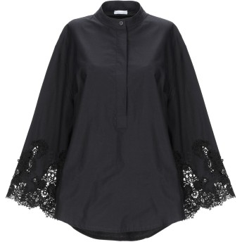 《セール開催中》P.A.R.O.S.H. レディース シャツ ブラック S コットン 100%