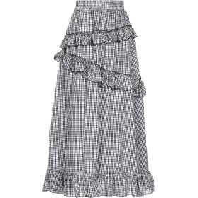 《セール開催中》BRIGITTE BARDOT レディース ロングスカート ブラック one size コットン 100%