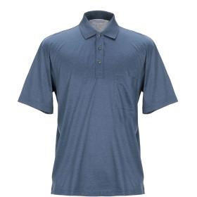 《期間限定セール開催中!》GRAN SASSO メンズ ポロシャツ ブルーグレー 46 コットン 100%