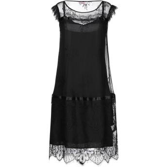 《セール開催中》BLUGIRL BLUMARINE レディース ミニワンピース&ドレス ブラック 38 ポリイミド 100%