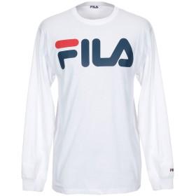 《期間限定 セール開催中》FILA メンズ T シャツ ホワイト XL コットン 100%