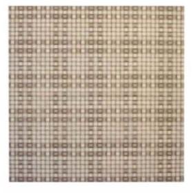 不織布シート 匠 篭目柄 20枚入 650 茶[RHL6002]