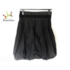 ナラカミーチェ NARACAMICIE ミニスカート サイズ11 M レディース 美品 黒 バルーン  値下げ 20191111