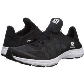 [サロモン] メンズ 男性用 シューズ 靴 スニーカー 運動靴 Amphib Bold - Black/Black/White Multi Snake 8.5 D - Medium [並行輸入品]