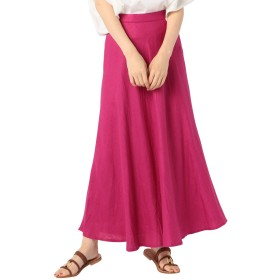 (ノーリーズ) NOLLEY'S リネンマキシスカート 9-0036-4-06-001 36 ピンク