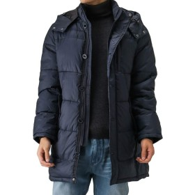 Navy(ネイビー) MAC HEAT(マックヒート)ロングコートジャケット ダウンコート 中綿 ロングコート 384104MH メンズ ネイビー:M