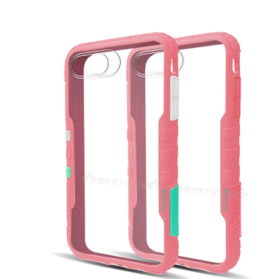 TGVi S 極勁2代 iPhone 6s/7/8 Plus 個性撞色防摔手機殼(櫻花粉)