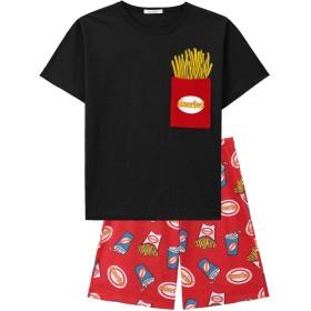 aimerfeel ペアポケットTシャツ 上下セット(男女兼用サイズ) 8242792975