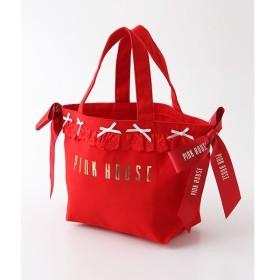 PINK HOUSE / ピンクハウス 【オンライン先行販売】フリルリボントートバッグ