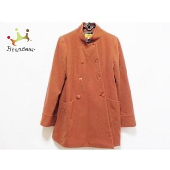 ホコモモラ JOCOMOMOLA コート サイズ40 XL レディース 美品 ブラウン 冬物 新着 20190809