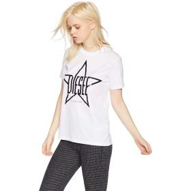 (ディーゼル) DIESEL レディース Tシャツ ロゴTシャツ 00SPBA0CZJA XS ホワイト 100