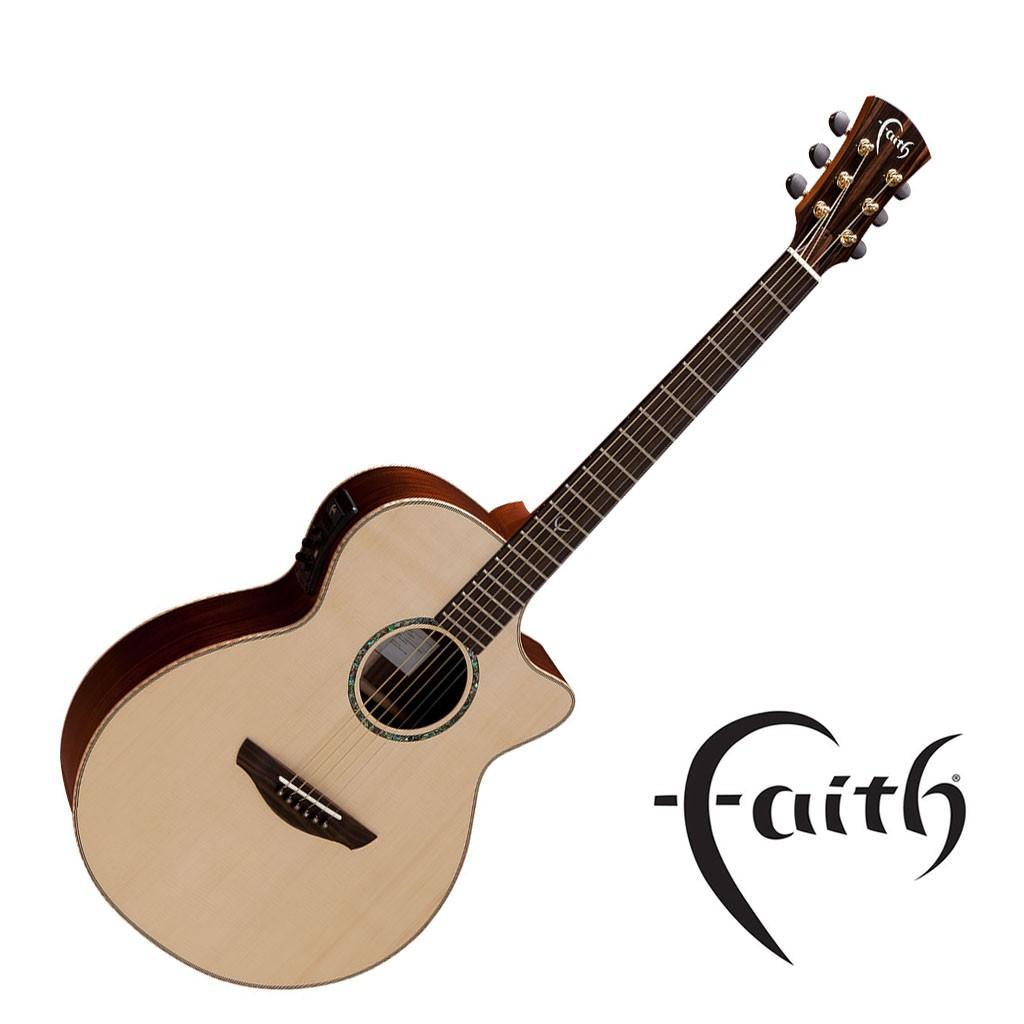 Faith FVHG-PERC民謠吉他 雲杉面板 玫瑰背側 全單板 (2012年英國最佳原聲吉他) 【黃石樂器】