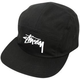 STUSSY (ステューシー) Stock Camp Cap ジェットキャップ 【フリー ブラック】 [並行輸入品]