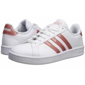 アディダス adidas レディース スニーカー シューズ・靴 Grand Court White/Raw Pink/Light Granite