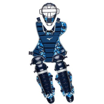 MIZUNO SHOP [ミズノ公式オンラインショップ] 軟式用捕手防具3点セット(野球) 14 ネイビー 1DJPC010