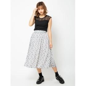 [マルイ]【セール】フラワープリントスカート/セシルマクビー(CECIL McBEE)